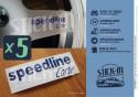 5 Stickers Speedline Corse Wheel Renault Clio Sport Williams