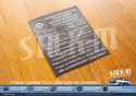 Autocollant Stickers Pressions de Gonflage Pneus Froids Clio Williams 16S Porte