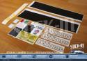 Full set restoration 17 stickers Renault Clio Williams Fase 1
