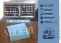 2 Autocollants rénovation grille chauffage ventilation Renault Clio 16S Williams Baccara