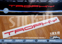 Renault Megane 3 RS TROPHY 265 Stickers Autocollants Parechoc Lame Avant