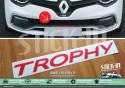 Autocollants Stickers Renault Clio 4 RS EDC TROPHY 220 Parechoc