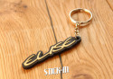 Keychain - Logo Lotus Elise Mk1 111S Sport JPS John Player Special 111S 111R type 49 79 50th- Black Gold - Soft PVC Keyrings