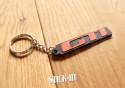 Keychain - Peugeot 205 309 GTI 1.6 1.9 Griffe - soft PVC keyrings monogram badge logo