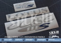 Lotus Elise S1 111S Stickers decals Blue Silver Grey