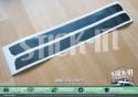 Peugeot 205 GTI B Pillars Stickers Textured 3 Doors Outside