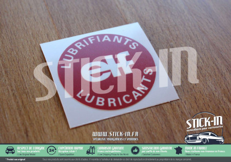 ELF Lubrifiants Oil Caps Stickers Renault 5 GT Turbo R5 R11R18 R19 R21 R25 Clio Alpine Decal engine