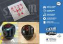Stickers GearKnob Renovation Renault 5 GT turbo GTT R5 Repair Kit Decal