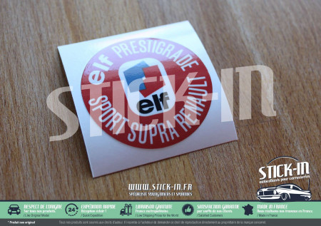 Stickers Decals Renault Elf Prestigrade Sport Supra Oil Caps R4 R6 R8 R12 R14 R15 R16 engine