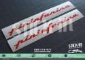 Stickers Decals Peugeot 205 CJ CTI Pininfarina Monograms Cabriolet