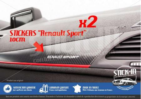 Autocollants Stickers Tableau Bord Dashboard Renault Sport Megane Clio Twingo RS