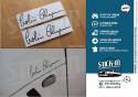 Autocollants Stickers Colin Chapman Signature Lotus Elise Exige Evora