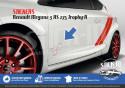 Renault Megane 3 RS TROPHY-R 275 Stickers Autocollants Portes