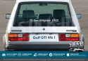 Volkswagen Stickers Das Original Year Golf GTI Combi Cox Old