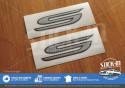 Autocollants Stickers S Lotus Elise Exige Europa Gris Argent
