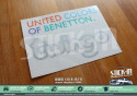 Autocollant Stickers Renault Twingo 1 United Colors Of Benetton