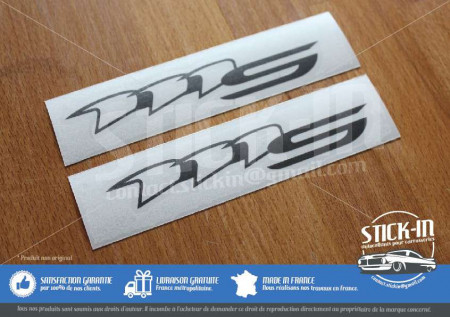 Lotus Elise 111S S2 2 Stickers Decals Sides Repeater Lamp Anthracite Graphite Charcoal