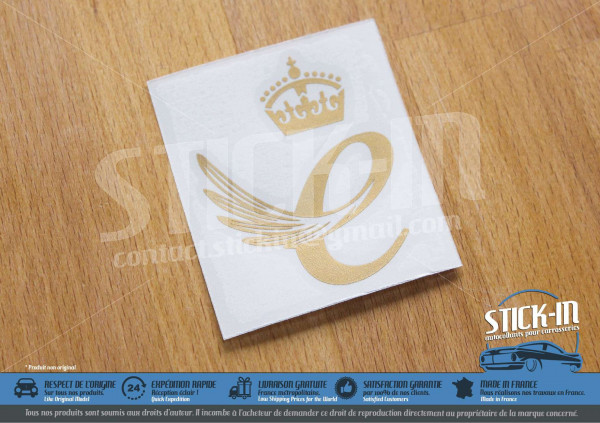 Lotus Elise Exige Queen's Award E Enterprise Stickers 111S R CUP S2 Black