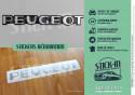Stickers Peugeot 106 205 309 405 GTI S16 Xsi Renovation Rear Monogram Badge