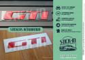Autocollant Sticker Peugeot 205 309 GTI Rénovation Monogramme Arrière Logo