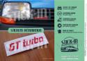 Stickers repair kit monogram badge Renault 5 GT Turbo Fase 1