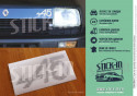 Renault 5 Alpine A5 Sticker Front Bonnet Boot Badge Striaded ou Full