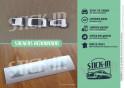 Autocollant Renovation Monogramme Peugeot 104 ZS S Stickers