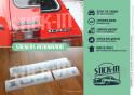 Ensemble Autocollants Renovation Monogrammes Peugeot 104 ZS Stickers