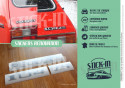 Full Stickers Peugeot 104 ZS Renovation Rear Monograms Badges Logos