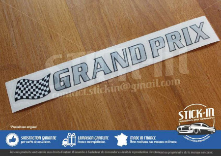 Renault Clio Grand Prix Sticker Decal Logo Monogram Rti 16V Badge