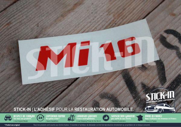 Renovation Monogramme Peugeot 405 Mi16 Autocollant Sticker Logo Badge