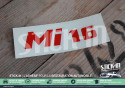 "Peugeot 405 Sticker ""Mi16 "" Renovation Rear Monogram Decal Logos Badge"