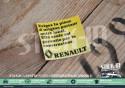 Autocollant Stickers Renault Exigez Pièce Origine portant notre label Clio 16S phase 1 moteur